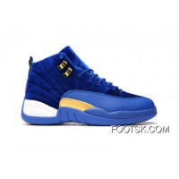 "Air Jordan 12 GS ""Blue Velvet"" Best"