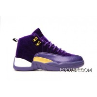 "Air Jordan 12 GS ""Purple Velvet"" New Release"