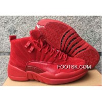 "Copuon Code Air Jordan 12 GS ""Red Suede"""