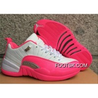 "Authentic Air Jordan 12 Low GS ""Vivid Pink""On Sale"