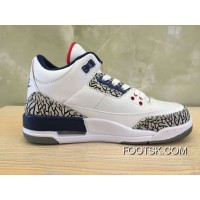 Womens Air Jordan 3 White/Fire Red-Cement Grey-Black 2013 Release For Sale Rfx3ZP