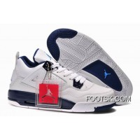 "Girls Air Jordan 4 Retro ""Columbia"" Authentic"