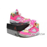 For Sale Girls Air Jordan 5 Pink Cherry Blossom