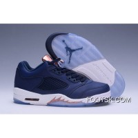 Air Jordan 5 Low Bronze Obsidian/White-Metallic Red Bronze-Bright Grape New Style SHx26z