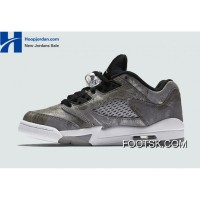 "''All Star"" Air Jordan 5 Low GS Cool Grey/Wolf Grey-White-Black Copuon Code HEtcN6"