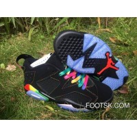 "Air Jordan 6 Low ""Black Colorful"" On Sale Free Shipping"