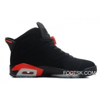 Air Jordans 6 Retro Black/Infrared Authentic