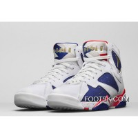 "Air Jordan 7 ""Olympic Alternate"" New Release"
