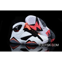 "For Sale Girls Air Jordan 7 ""Hot Lava"" White/Black-Hot Lava"