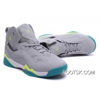 Air Jordan7 True Flight – Wolf Grey / Volt Ice-turbo Green Lastest DMQMCaR