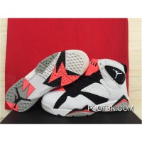 """Hot Lava"" Air Jordan 7 White/Black-Hot Lava-Wolf Grey Free Shipping CQBbX"