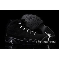 Cheap To Buy Girls Air Jordan 9 Anthracite/White-Black