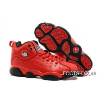 "Jordan Jumpman Team 2 GS ""Raging Bull"" All-Red Free Shipping"