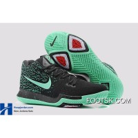 Nike Kyrie 3 Green Black PE GS's Basketball Shoes New Release PZFQNtK
