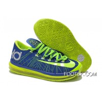 Lastest Nike KD 6 VI Elite Royal Blue/Neon Green