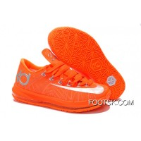 Nike KD 6 VI Elite Team Orange/Metallic Silver Best