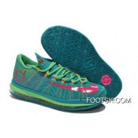 "Nike KD 6 VI Elite ""Hero"" Turbo Green/Vivid Pink-Nightshade-Light Lucid Green Authentic"