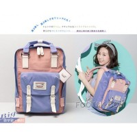 HongKong Doughnut Macaroon Bags Pack Your Dream Taro Purple Pink Free Shipping