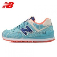 Hot 2016 New Balance 574 Women Blue