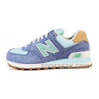 Hot 2016 New Balance 574 Women Dark Blue