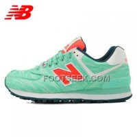 Hot 2016 New Balance 574 Women Green
