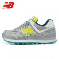 Hot 2016 New Balance 574 Women Light Grey