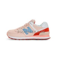 Hot 2016 New Balance 574 Women Light Pink