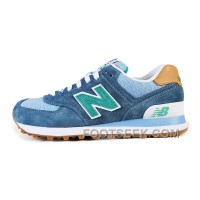 Hot 2016 New Balance 574 Women Light Sky Blue