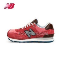Hot 2016 New Balance 574 Women Red