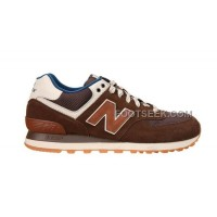 Hot New Balance 574 2016 Men Brown
