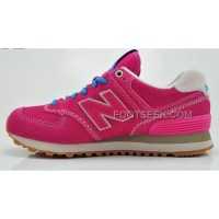 Hot New Balance 574 2016 Men Pink