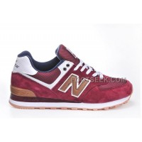 Hot New Balance 574 2016 Men Red