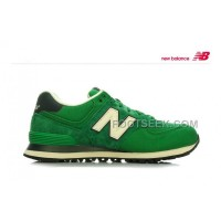 Hot New Balance 574 2016 Women Green