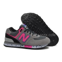 Hot New Balance 574 2016 Women Grey