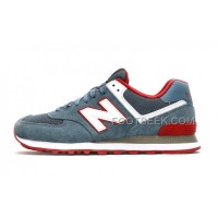 Hot New Balance 574 2016 Women Light Blue
