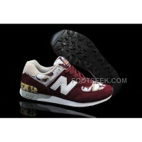 Hot New Balance 576 Men Dark Red