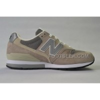 Hot New Balance 996 Women Beige