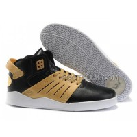 Hot Supra Skytop III Black Yellow Men's Shoes