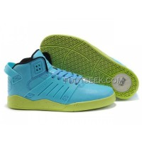 Hot Supra Skytop III Blue Green Men's Shoes