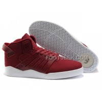 Hot Supra Skytop III Claret-Red White Men's Shoes