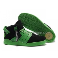 Hot Supra Skytop III Green Black Men's Shoes