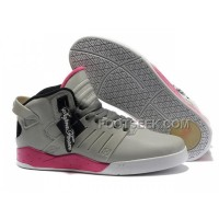 Hot Supra Skytop III Grey Red Men's Shoes
