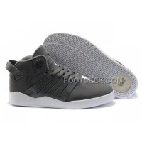 Hot Supra Skytop III Grey White Men's Shoes
