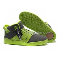 Hot Supra Skytop III LawnGreen Grey Men's Shoes