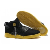 Hot Supra Skytop III Mesh Black Yellow Men's Shoes