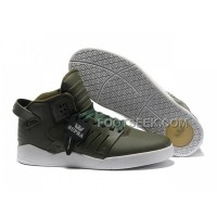 Hot Supra Skytop III Olive White Men's Shoes
