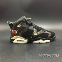 New Style Women Shoes Son Generation Air Jordan 6 Cny In 3 M China Box Sku Aa2492-021 Number 4-7 Y All Yards