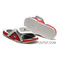 Jordan Hydro 13 Slide Sandals White/Black/True Red/Cement Grey Best 3zzDpH