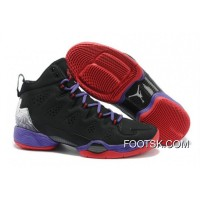 New Release Jordan Melo M10 Black Blue Gym Red