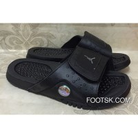 Jordan Hydro 13 Retro Black/Anthracite Slide Sandals For Sale